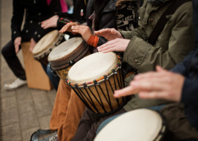 Facilitated Drumming